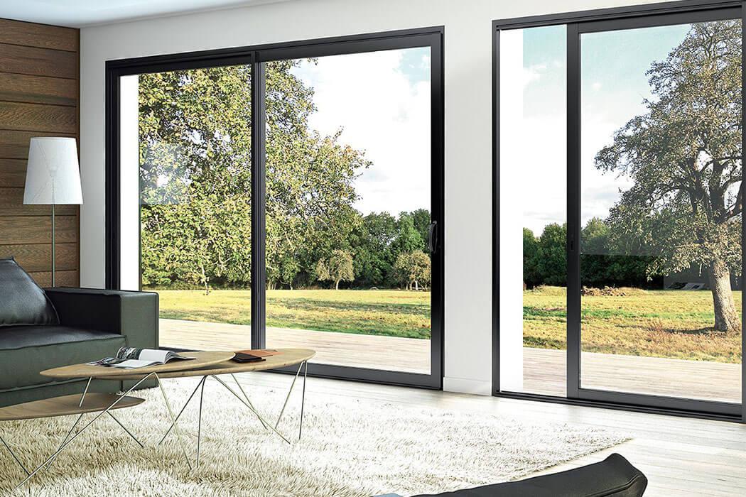 Fenêtre et porte-fenêtre aluminium de Parthenay Menuiserie 17
